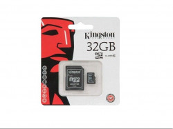 Карта памяти Kingston microSDHC 32 GB 10 Class